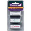 """Shop this 3-pack stamp kit made just for teachers! Includes """"This Belongs To..."""" """"Terrific Effort"""" and """"Brilliant!"""" pre-inked stamps to make your life easier!"""