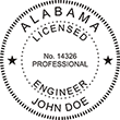 Looking for professional engineer stamps? Our Alabama professional engineer stamps are available in several mount options, check them out at the EZ Custom Stamps Store.