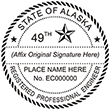 Looking for Registered Professional Engineer Professional Stamps for the State of Alaska? Shop for Custom Official State of Alaska Registered Professional Engineer Stamps here.