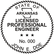 Looking for professional engineer stamps? Our Arkansas professional engineer stamps are available in several mount options, check them out at the EZ Custom Stamps Store.