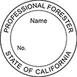 Need a professional forester stamp in California? Create your custom forester stamp on the EZ Custom Stamps Store today!