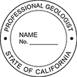 Need a professional geologist stamp in California? Create your own custom geologist stamp on the EZ Custom Stamps Store today!