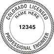 Looking for professional engineer stamps? Our Colorado professional engineer stamps are available in several mount options, check them out at the EZ Custom Stamps Store.