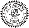 Looking for environmental professional stamps? Our Connecticut environmental professional stamps are available in several mount options, check them out at the EZ Custom Stamps Store.
