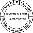 Need a professional geologist stamp in Delaware? Create your own custom geologist stamp on the EZ Custom Stamps Store today!