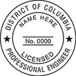 Looking for professional engineer stamps? Our District of Columbia professional engineer stamps are available in several mount options, check them out at the EZ Custom Stamps Store.