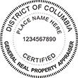 Looking for a real estate appraiser stamp for the District of Columbia? Find your occupation stamp on the EZ Custom Stamps store today.