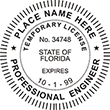 Looking for professional engineer stamps? Our Florida temporary engineer stamps are available in several mount options, check them out at the EZ Custom Stamps Store.