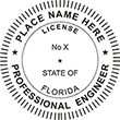 Looking for professional engineer stamps? Our Florida professional engineer stamps are available in several mount options, check them out at the EZ Custom Stamps Store.
