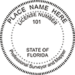Do you need a custom Florida surveyor and mapper stamp? EZ Office Products offers all the custom stamps you could need or want, such as state surveyor and mapper stamps.