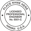 Looking for professional engineer stamps? Our Hawaii professional engineer stamps are available in several mount options, check them out at the EZ Custom Stamps Store.