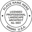 Need a landscape architect stamp? Check out our Hawaii licensed professional landscape architect stamp at the EZ Custom Stamps Store. Available in various mount options.