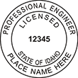 Looking for professional engineer stamps? Our Idaho professional engineer stamps are available in several mount options, check them out at the EZ Custom Stamps Store.
