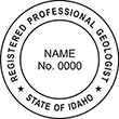 Need a professional geologist stamp in Idaho? Create your own custom geologist stamp on the EZ Custom Stamps Store today!