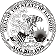 Do you need a custom Illinois state seal stamp? EZ Office Products offers all the custom stamps you could need or want, such as state seal stamps.