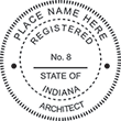 Need official architect stamps for the state of Indiana? Shop our collection of Indiana professional stamps on our online store.