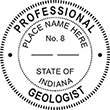 Need a professional geologist stamp in Indiana? Create your own custom geologist stamp on the EZ Custom Stamps Store today!