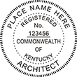 Shop for professional Registered Architect stamps for Kentucky on the EZ Custom Stamps Store. We have the custom stamps your business needs.