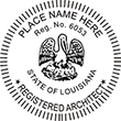 Looking for official architect stamps for Louisiana? Buy professional Louisiana stamps for architects on the EZOP Custom Stamps Store today.