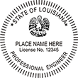 Looking for professional engineer stamps? Our Louisiana professional engineer stamps are available in several mount options, check them out at the EZ Custom Stamps Store.