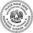 Looking for Interior designer stamps? Check out our Louisiana registered interior designer stamp at the EZ Custom Stamps Store.