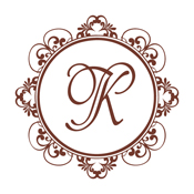 Shopping for a decorative initials monogram stamp? This detailed circle border stamp comes with your initial in a color of your choice.