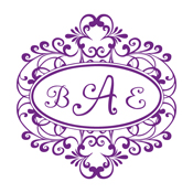 Need a decorative initial monogram stamp? This ornate border stamp allows for up to 3 initials in a color of your choice.